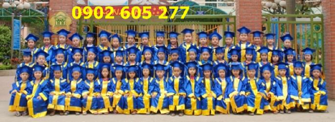 Bán áo tốt nghiệp mầm non có sẵn chỉ 80k