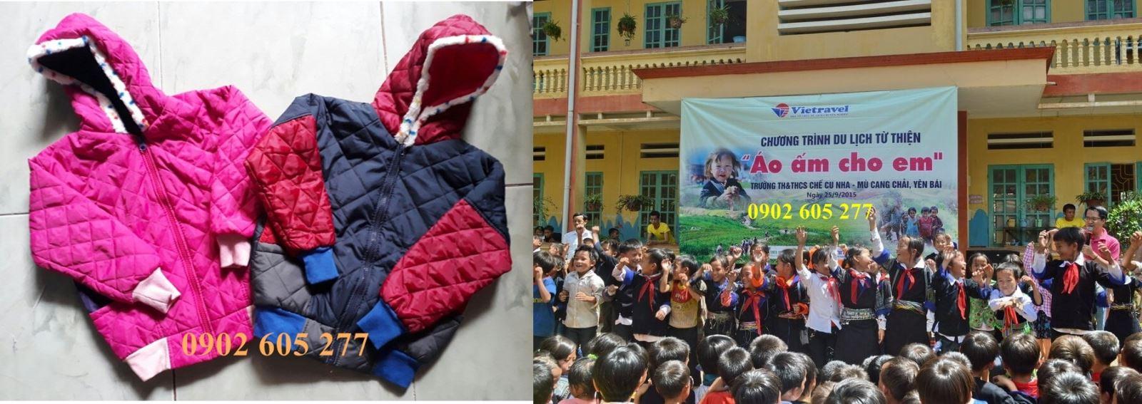 Ấm lòng với món quà áo ấm từ thiện tại daknong– mon qua ao am tu thien daknong