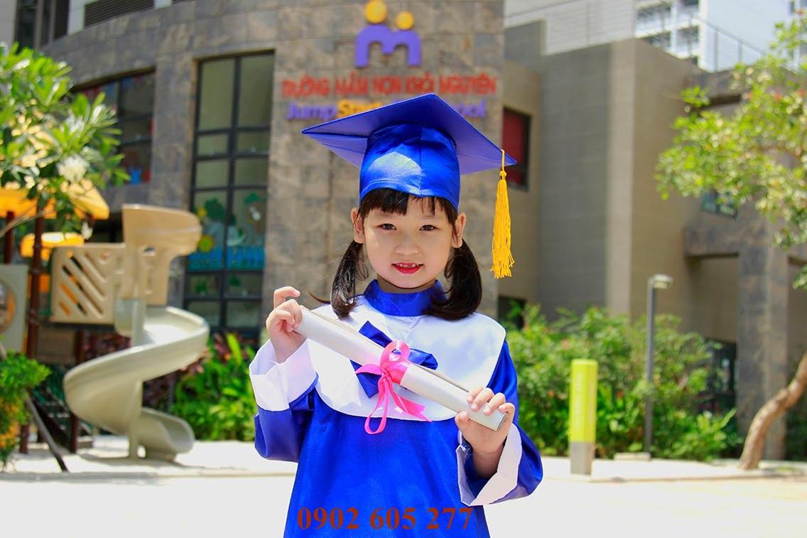 Nhận đặt may áo tốt nghiệp mẫu giáo mới nhất