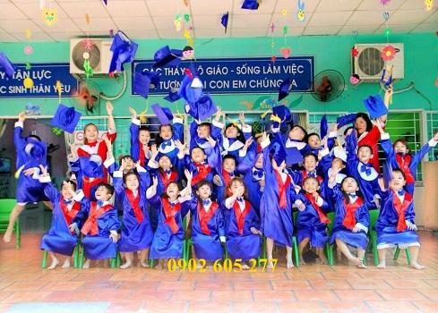 Dịch vụ cho thuê đồng phục tốt nghiệp mầm non mới nhất