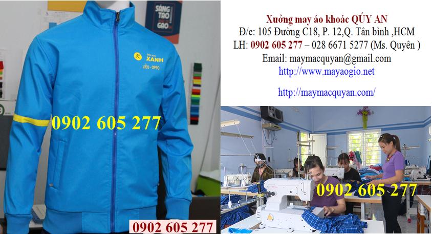Địa chỉ may áo khoác đồng phục công ty ở quận 7