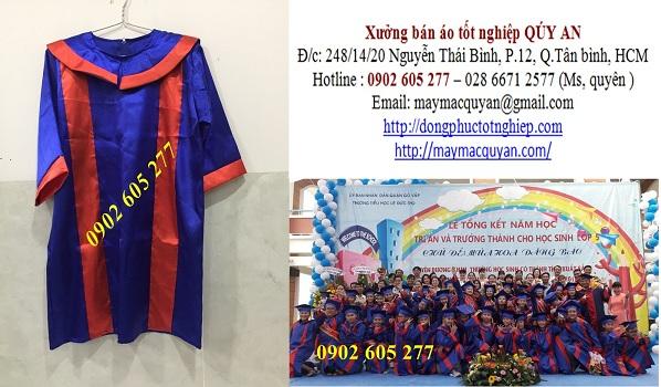 Mua đồng phục tốt nghiệp cấp 1 có sẵn, giá rẻ