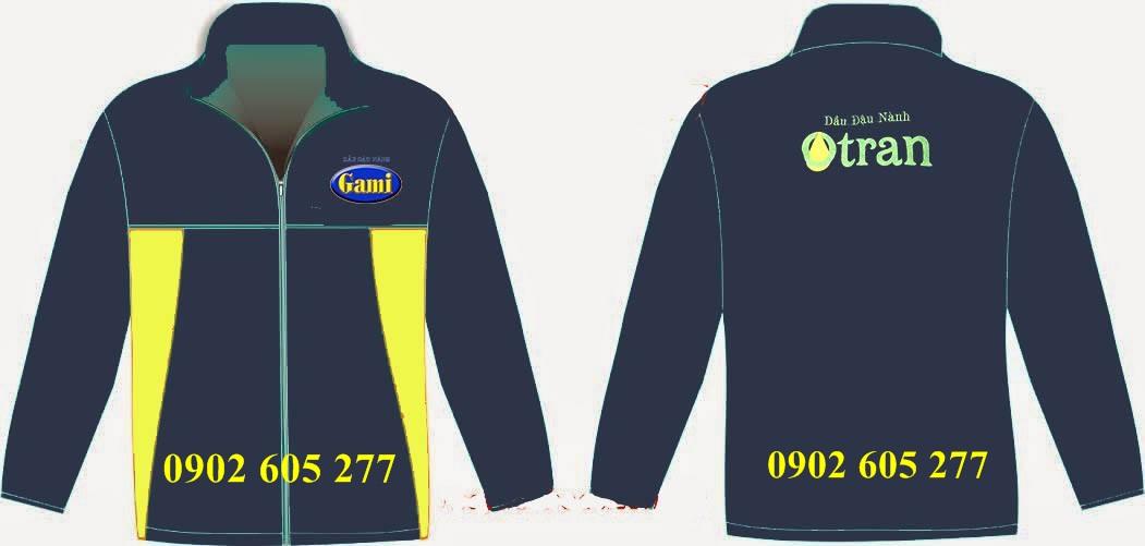 May áo khoác đồng phục theo mẫu quận 2