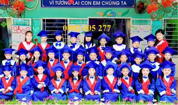 Chuyên may lễ phục tốt nghiệp mầm non giá ưu đãi