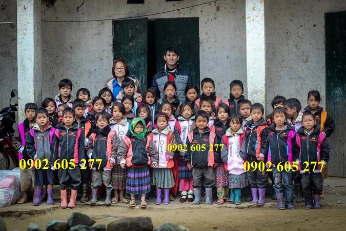 Tìm nơi thanh lí áo khoác từ thiện cho trẻ em vùng sâu vùng xa ở Daknong