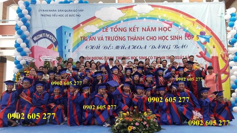 Đặt may lễ phục tốt nghiệp tiểu học ở Ninh Bình