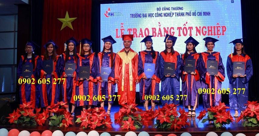 Đặt may lễ phục tốt nghiệp cho sinh viên trường Đh Công nghiệp